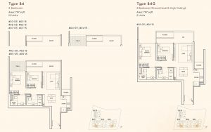 2 Bedroom Kandis Residence Floorplan
