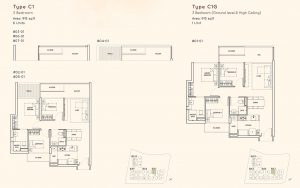 3 Bedroom Kandis Residence Floorplan
